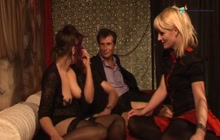 Horny German swingers having a foursome